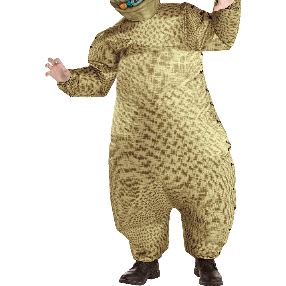 Child Inflatable Oogie Boogie Costume - The Nightmare Before Christmas Image #3