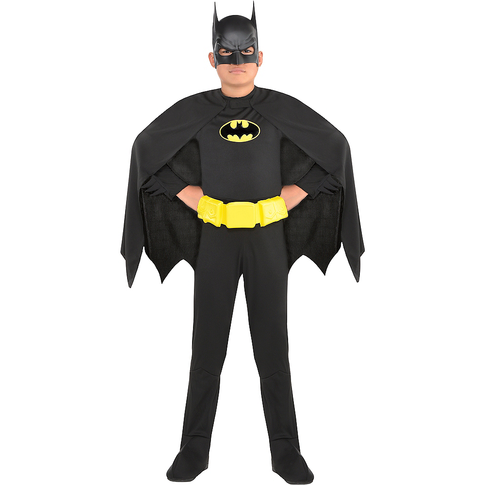 Boys Batman Costume Image #1