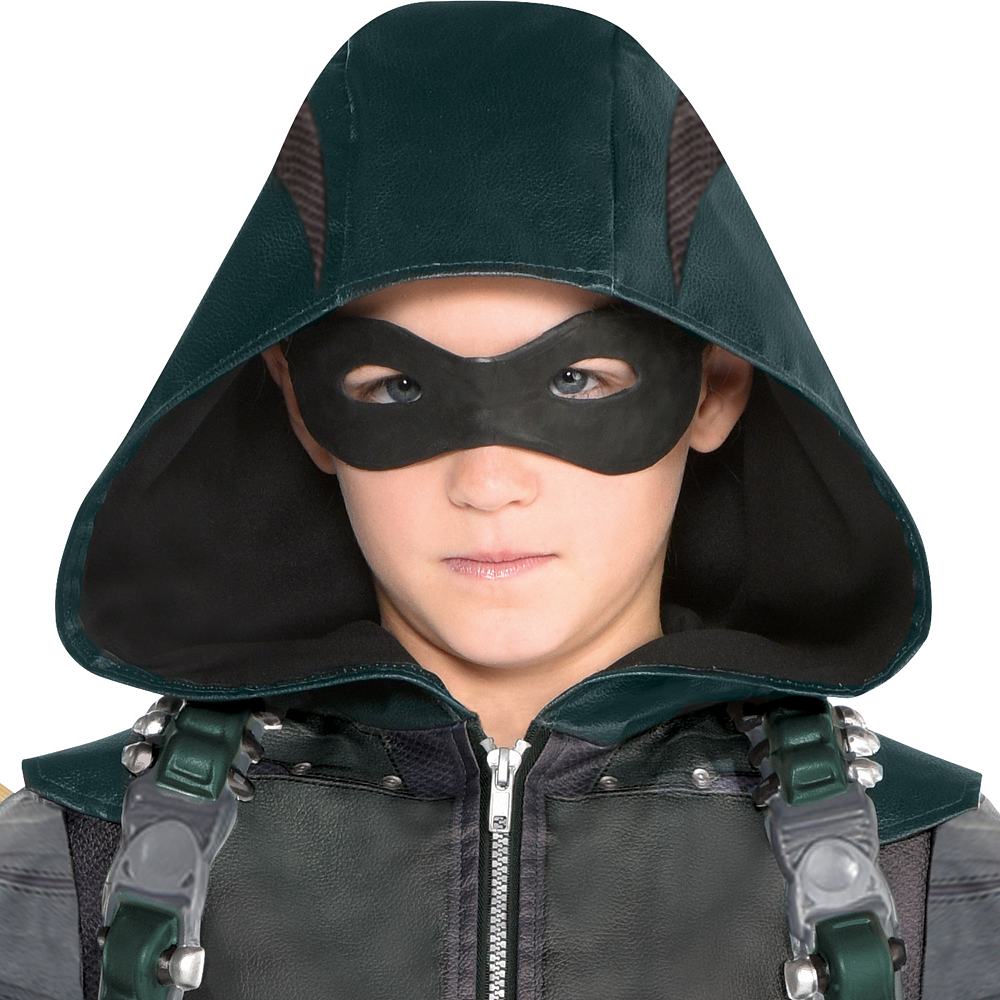 Boys Green Arrow Costume Image #2