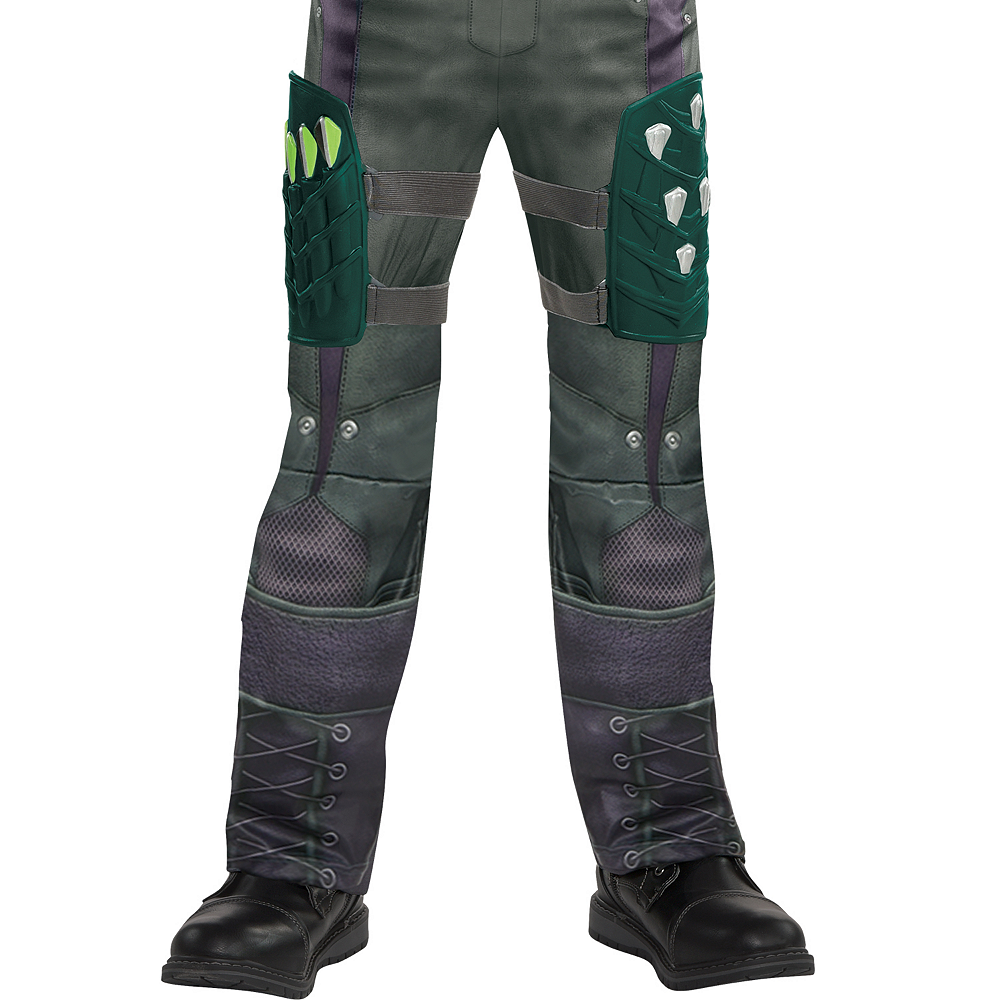 Boys Green Arrow Costume Image #4