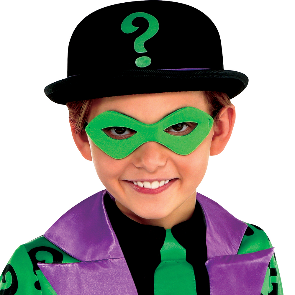 Boys Classic Riddler Costume - Batman Image #2