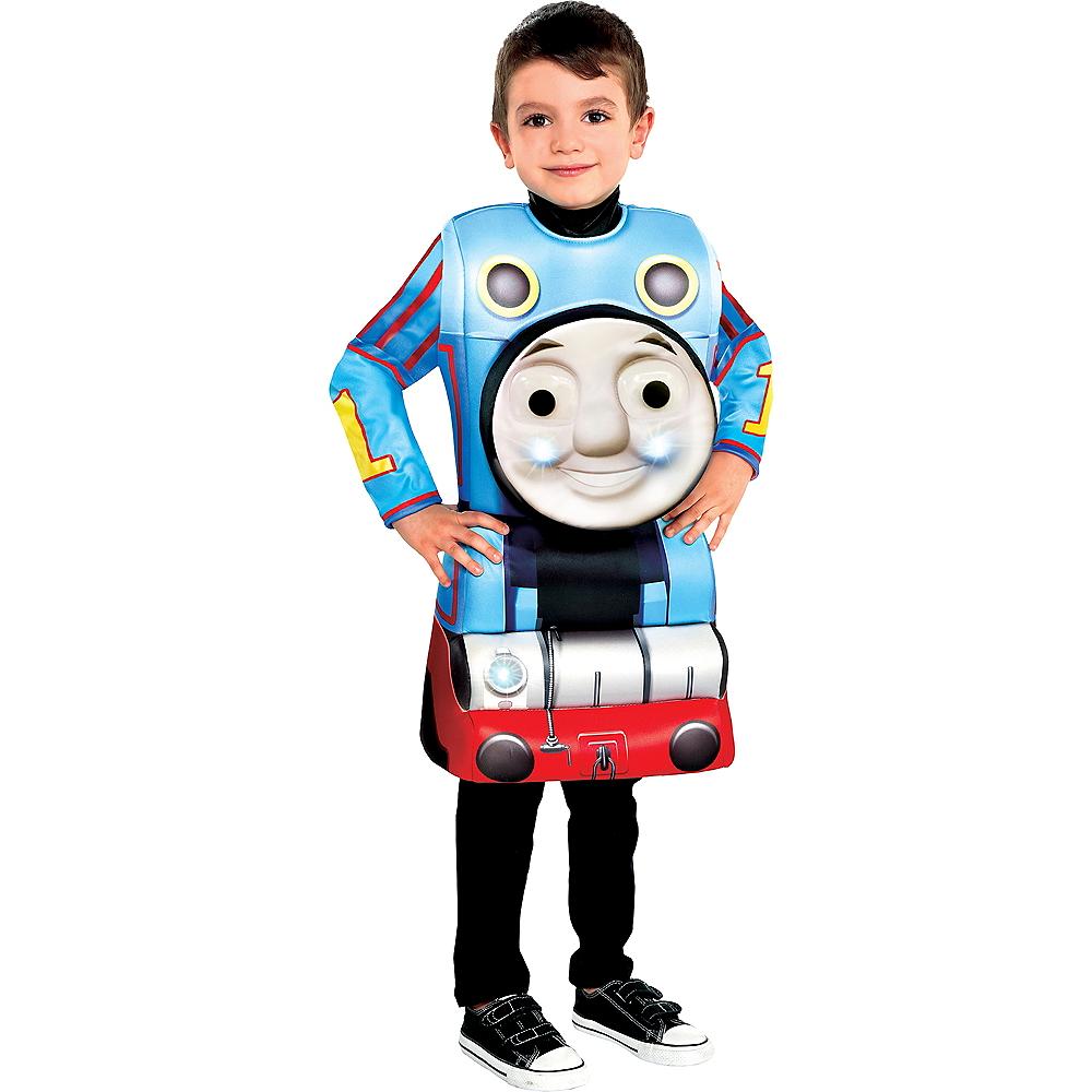 Boys Light-Up Thomas the Tank Engine Costume Image #1