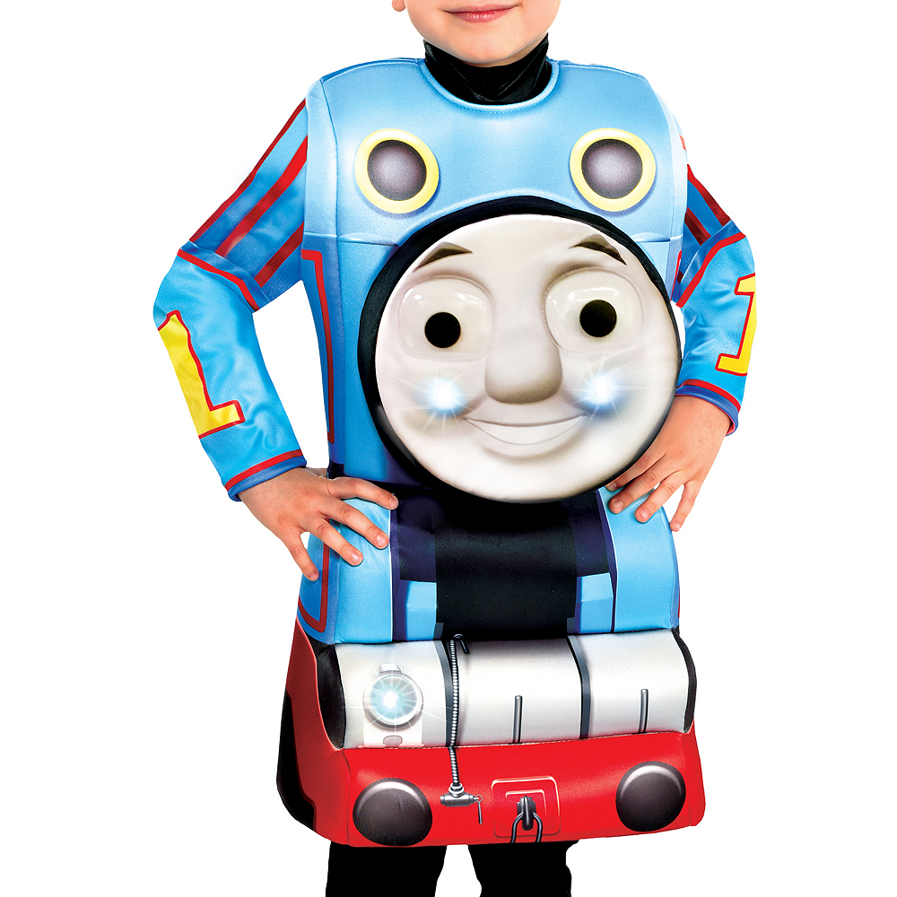 Boys Light-Up Thomas the Tank Engine Costume Image #2
