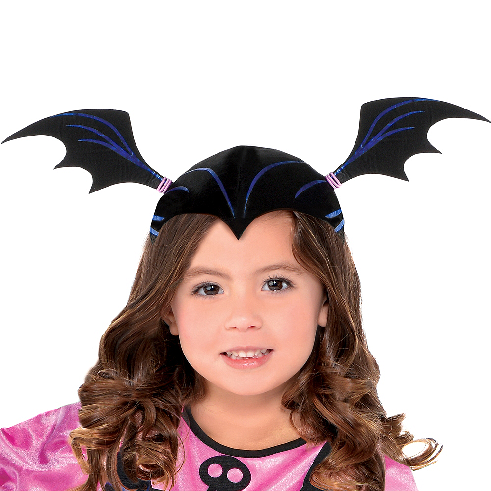 Nav Item for Girls Vampirina Vee Costume Image #2