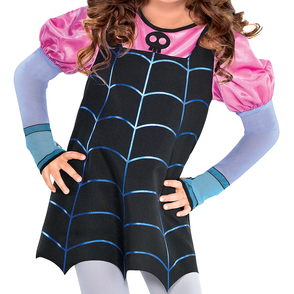 Nav Item for Girls Vampirina Vee Costume Image #3
