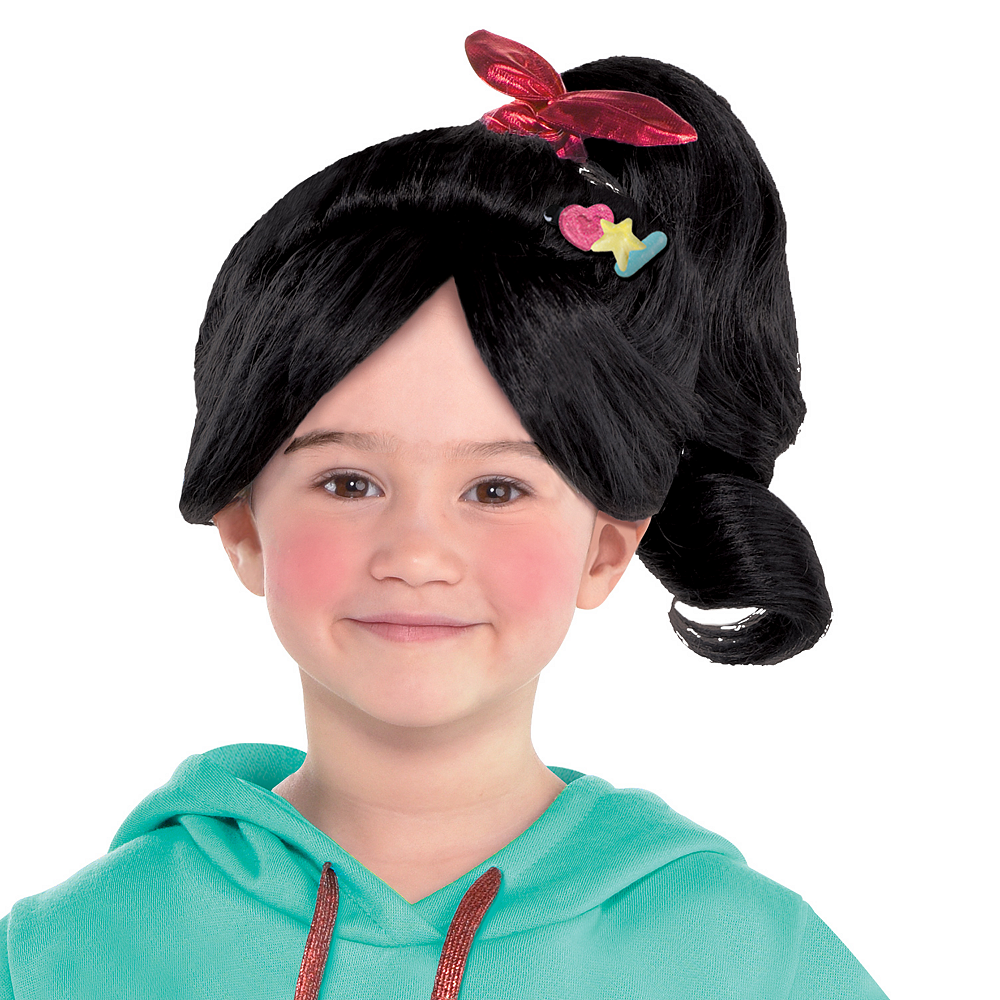 Nav Item for Girls Vanellope Costume - Wreck-It Ralph 2 Image #2
