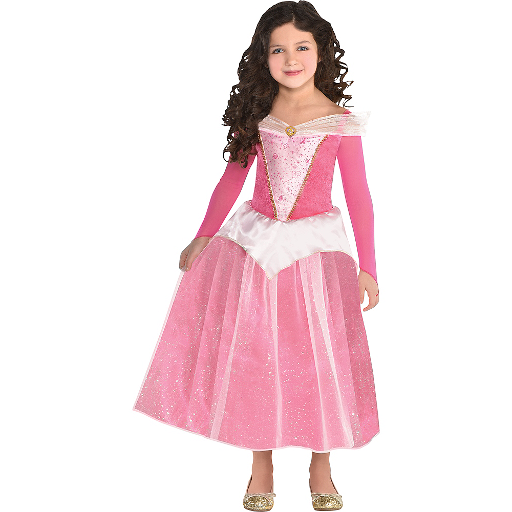 6aa3880dbd56b Girls Classic Aurora Costume - Sleeping Beauty
