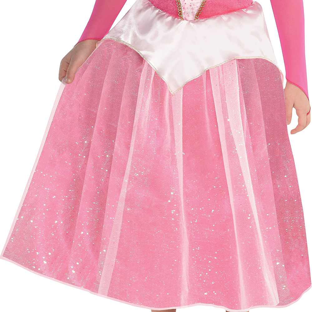 Nav Item for Girls Classic Aurora Costume - Sleeping Beauty Image #3