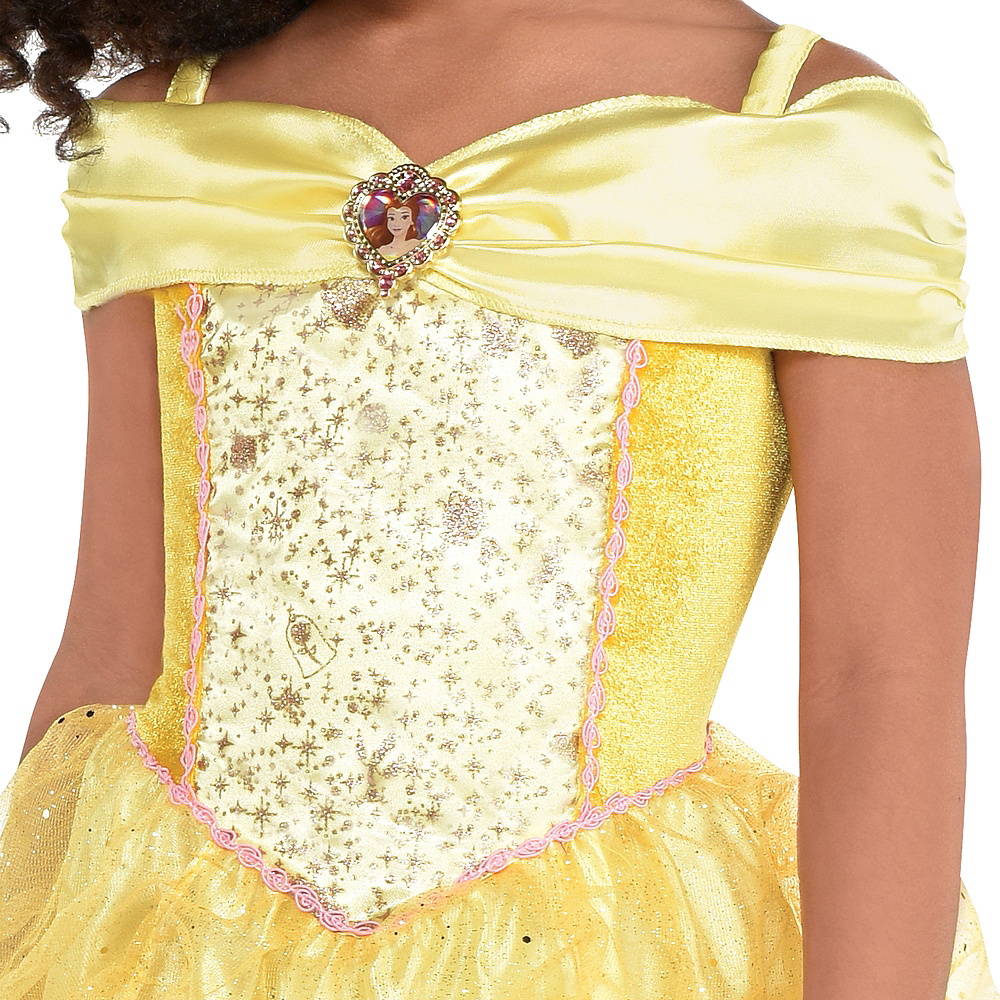 Girls Classic Belle Costume - Beauty and the Beast Image #2