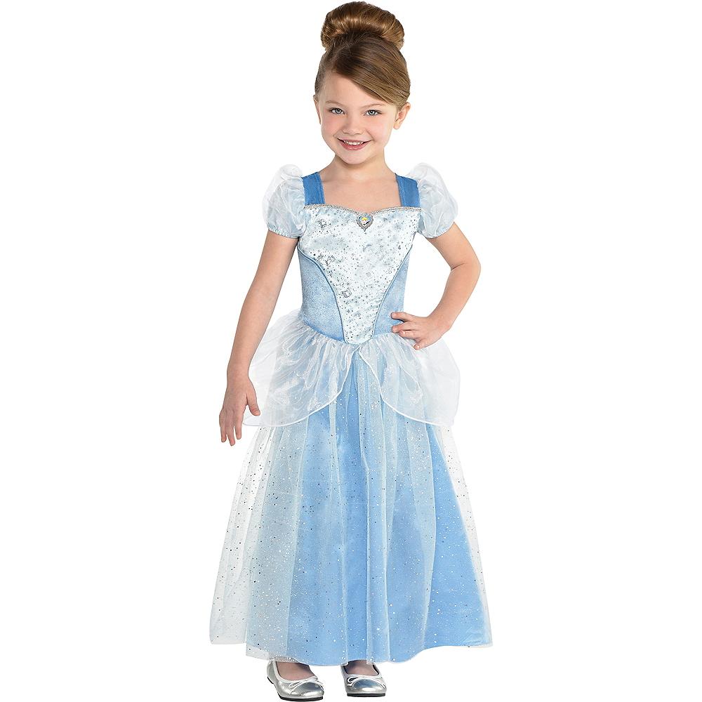 Girls Classic Cinderella Costume - Cinderella Image #1