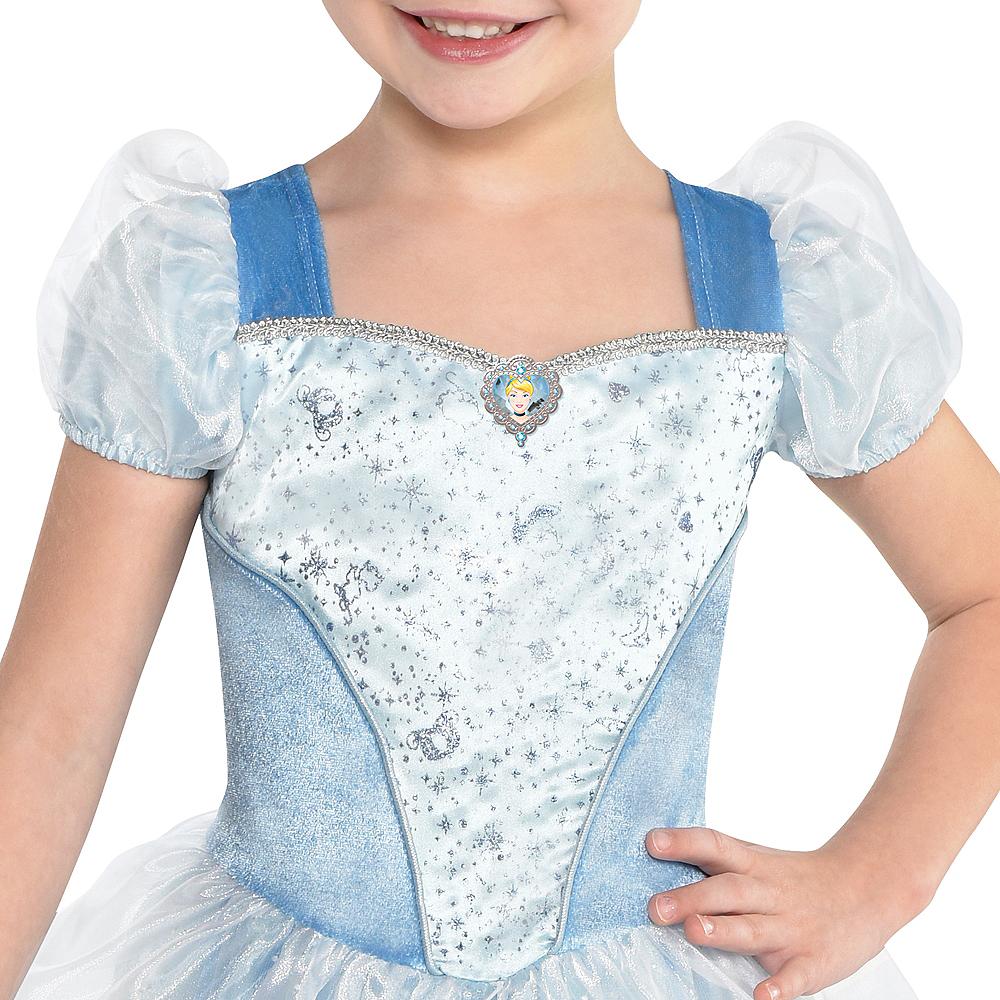 Girls Classic Cinderella Costume - Cinderella Image #2