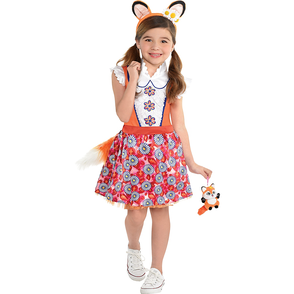 Girls Felicity Fox Costume - Enchantimals Image #1