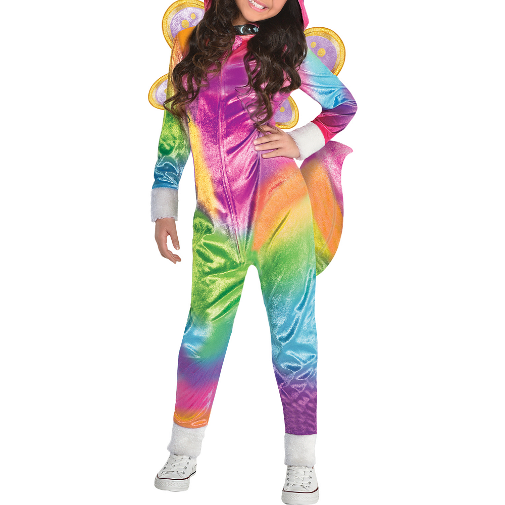 Nav Item for Girls Felicity Costume - Rainbow Kitty Unicorn Image #4