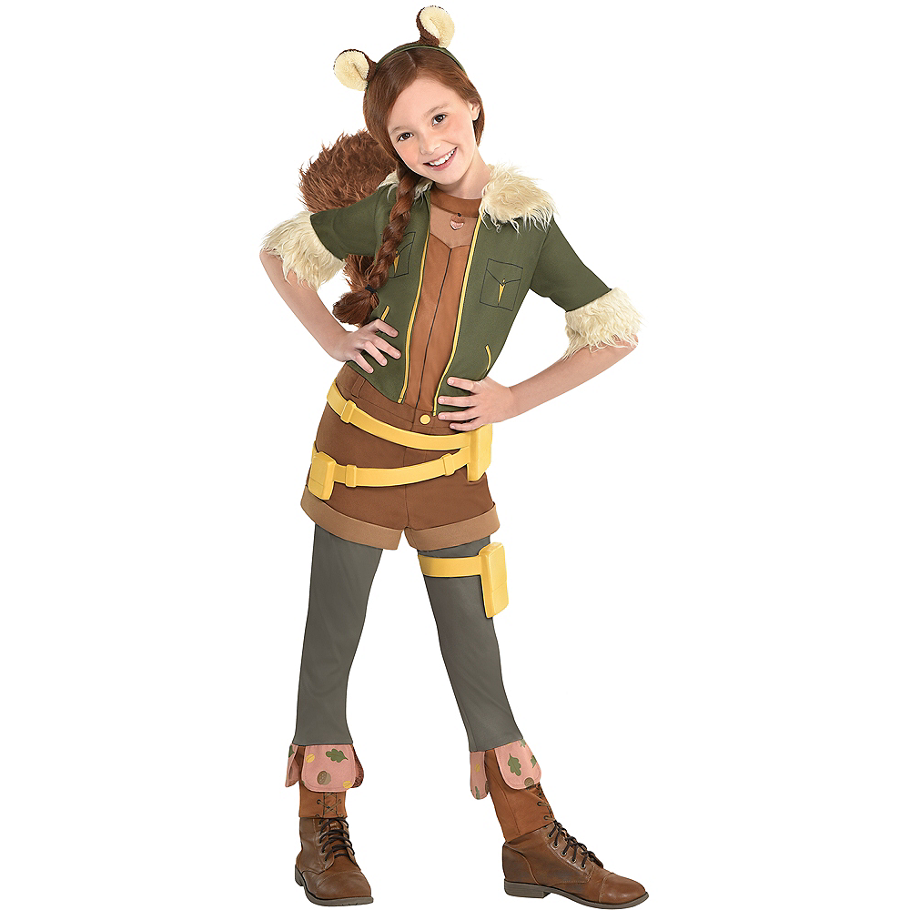 Girls Squirrel Girl Costume - Marvel Rising Image #1