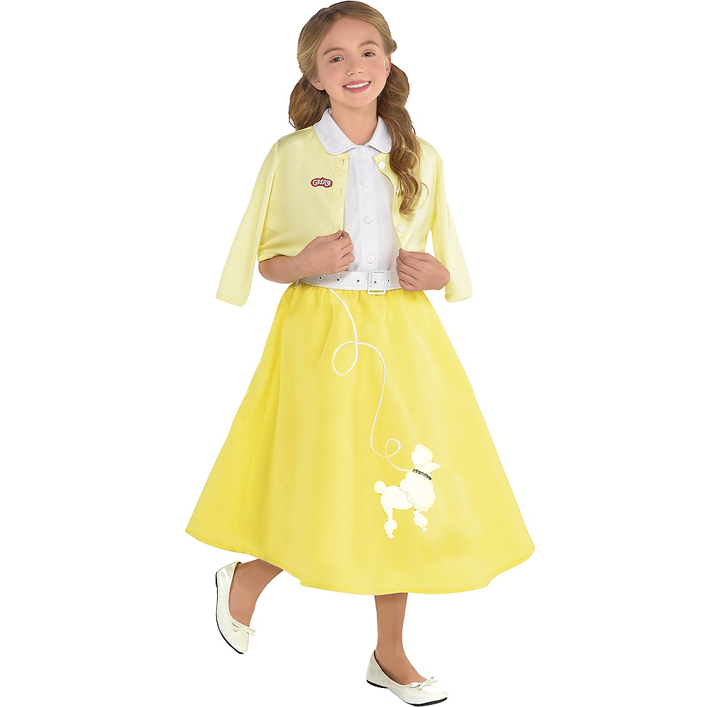 Super Girls Sandy Olsson Summer Nights Costume - Grease | Party City DL-52