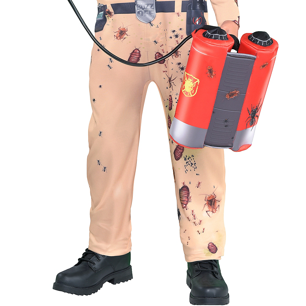 Boys Bugged Out Exterminator Costume Image #4