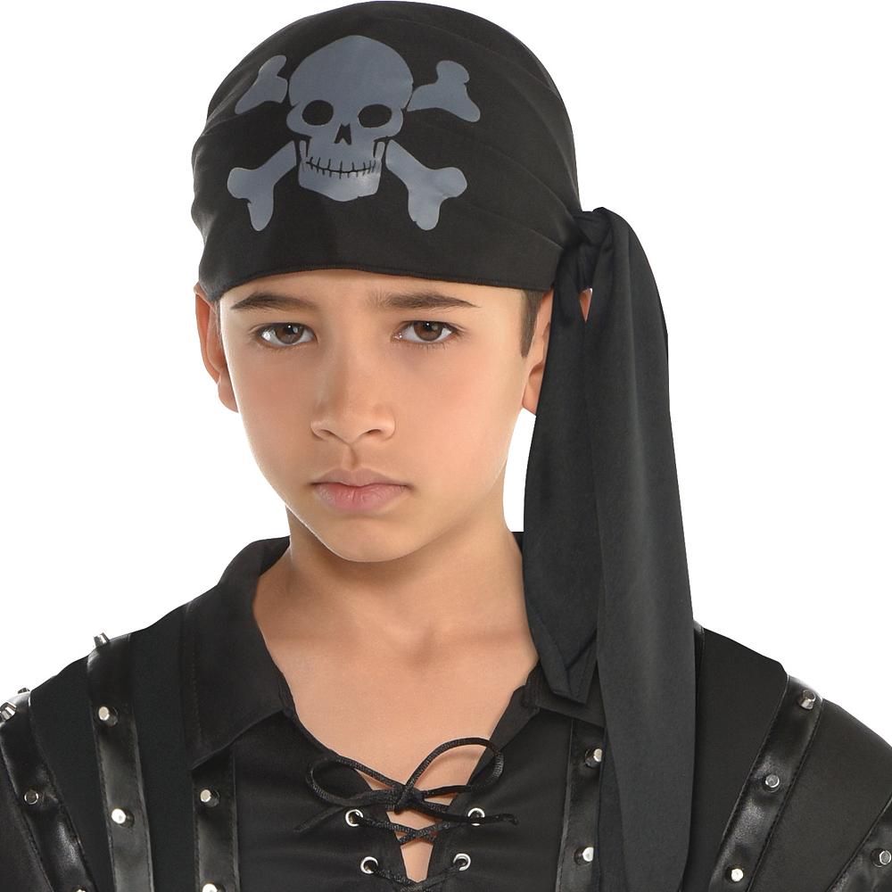 Boys Dark Sea Scoundrel Pirate Costume Image #2
