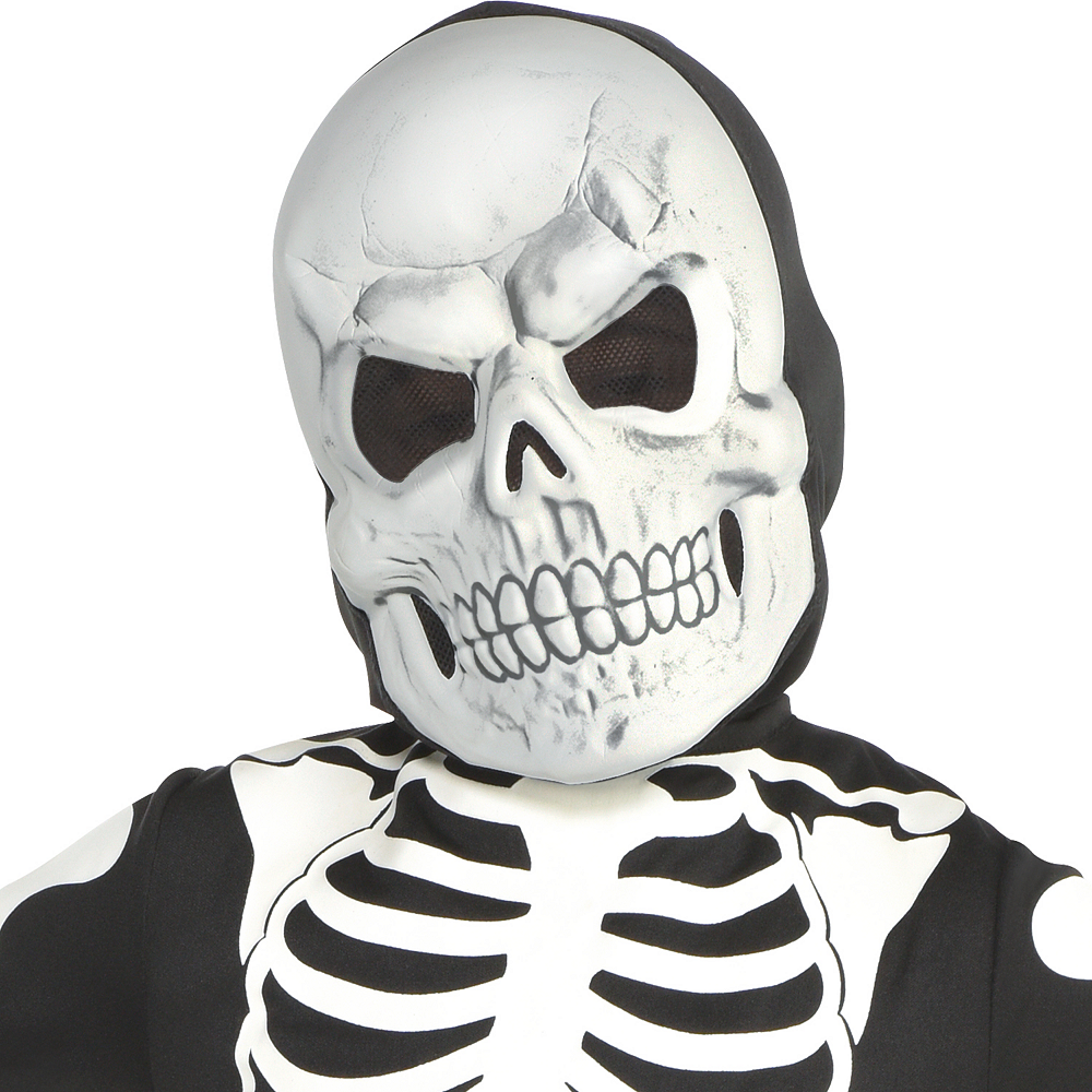 Boys Glow-in-the-Dark X-ray Skeleton Costume Image #2