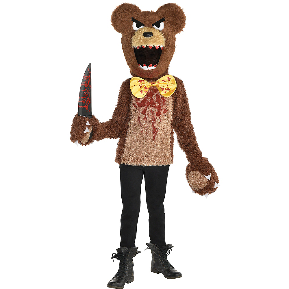 Boys Creepy Bear Costume Image #1