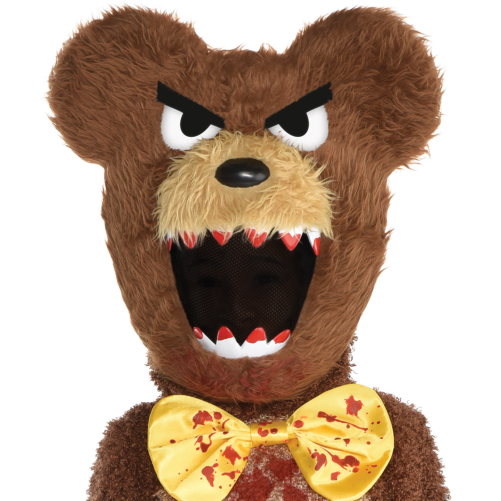 Boys Creepy Bear Costume Image #2