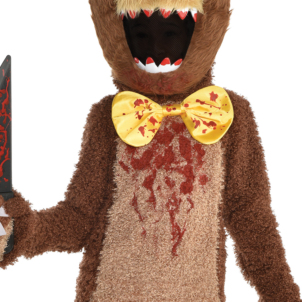 Boys Creepy Bear Costume Image #3