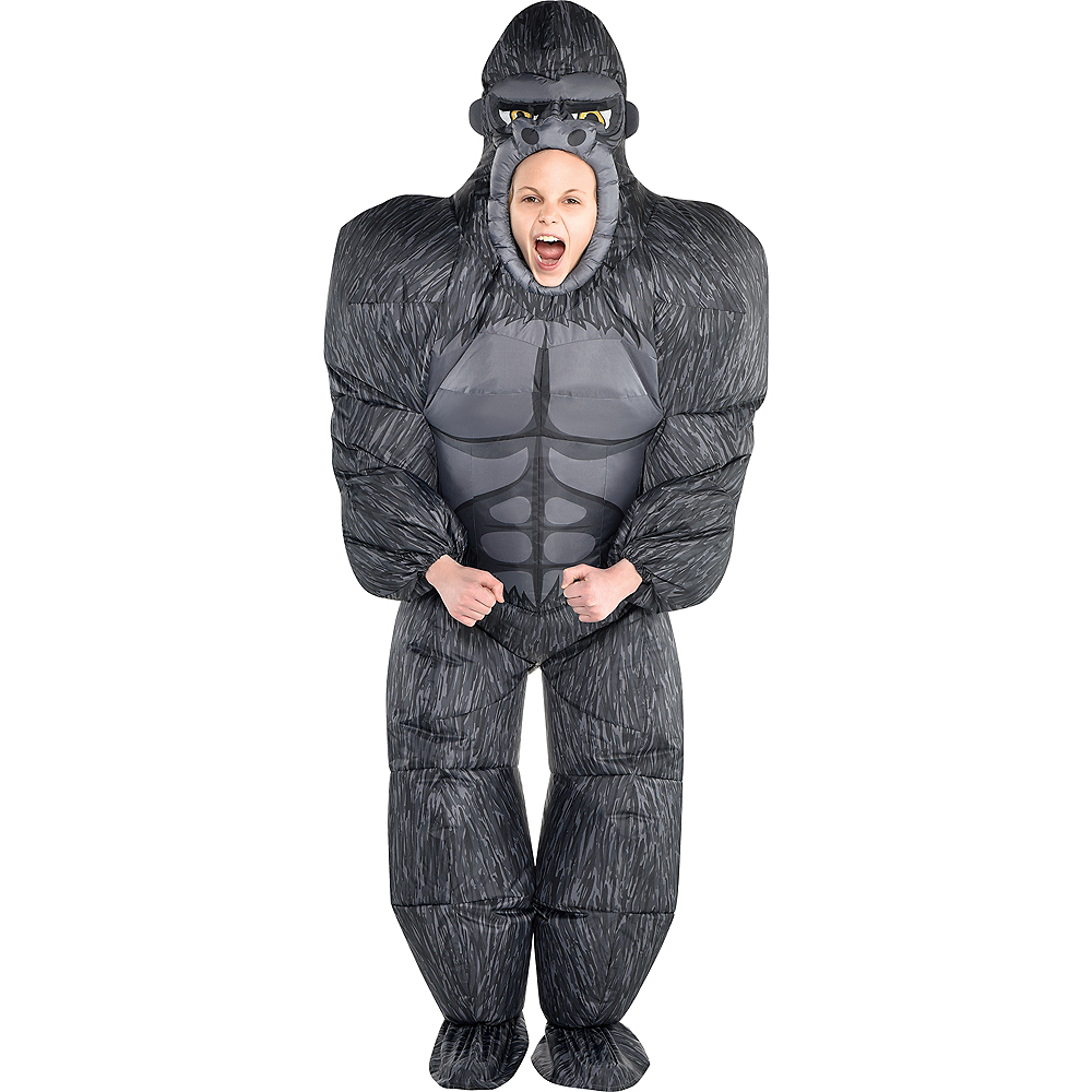 Child Inflatable Gorilla Costume | Party City