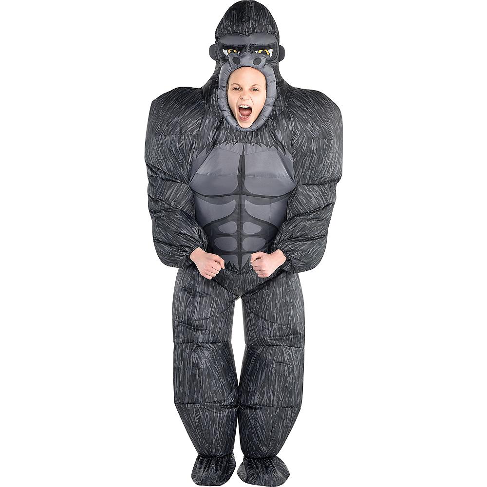Child Inflatable Gorilla Costume Image #1