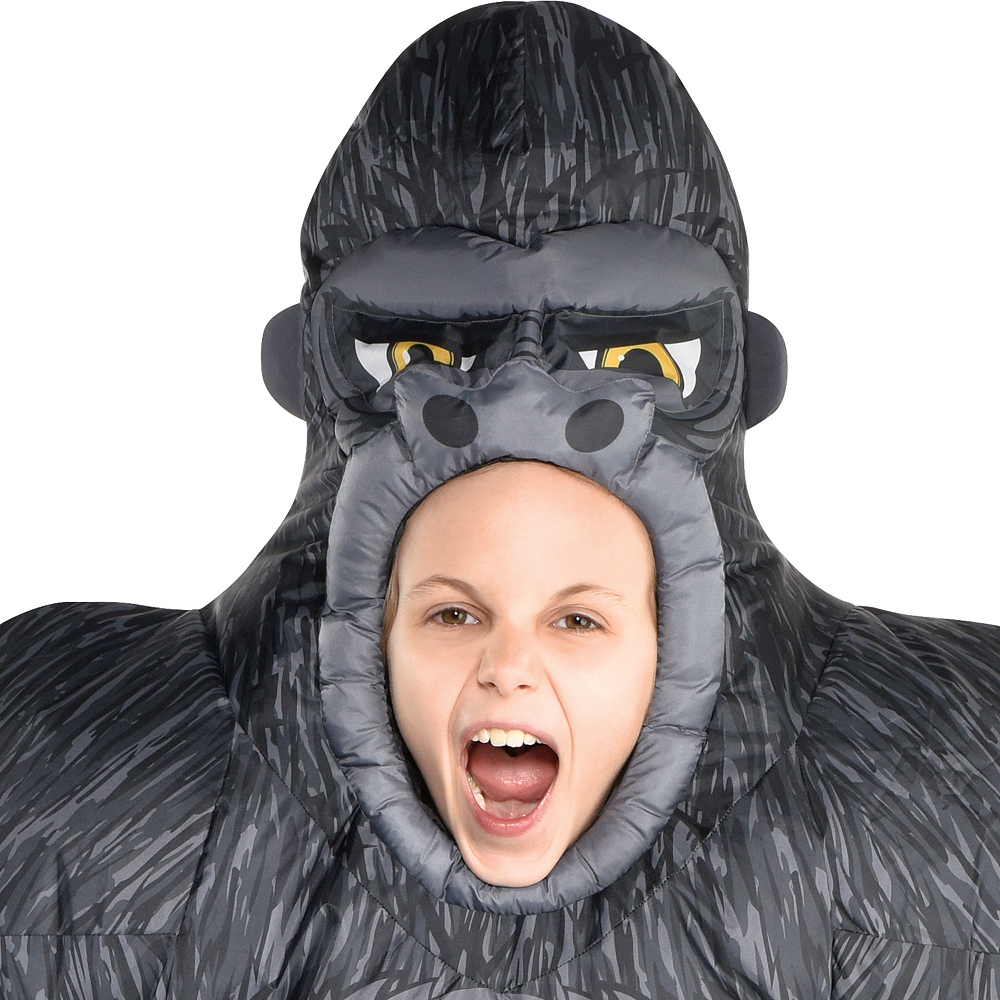 Child Inflatable Gorilla Costume Image #2