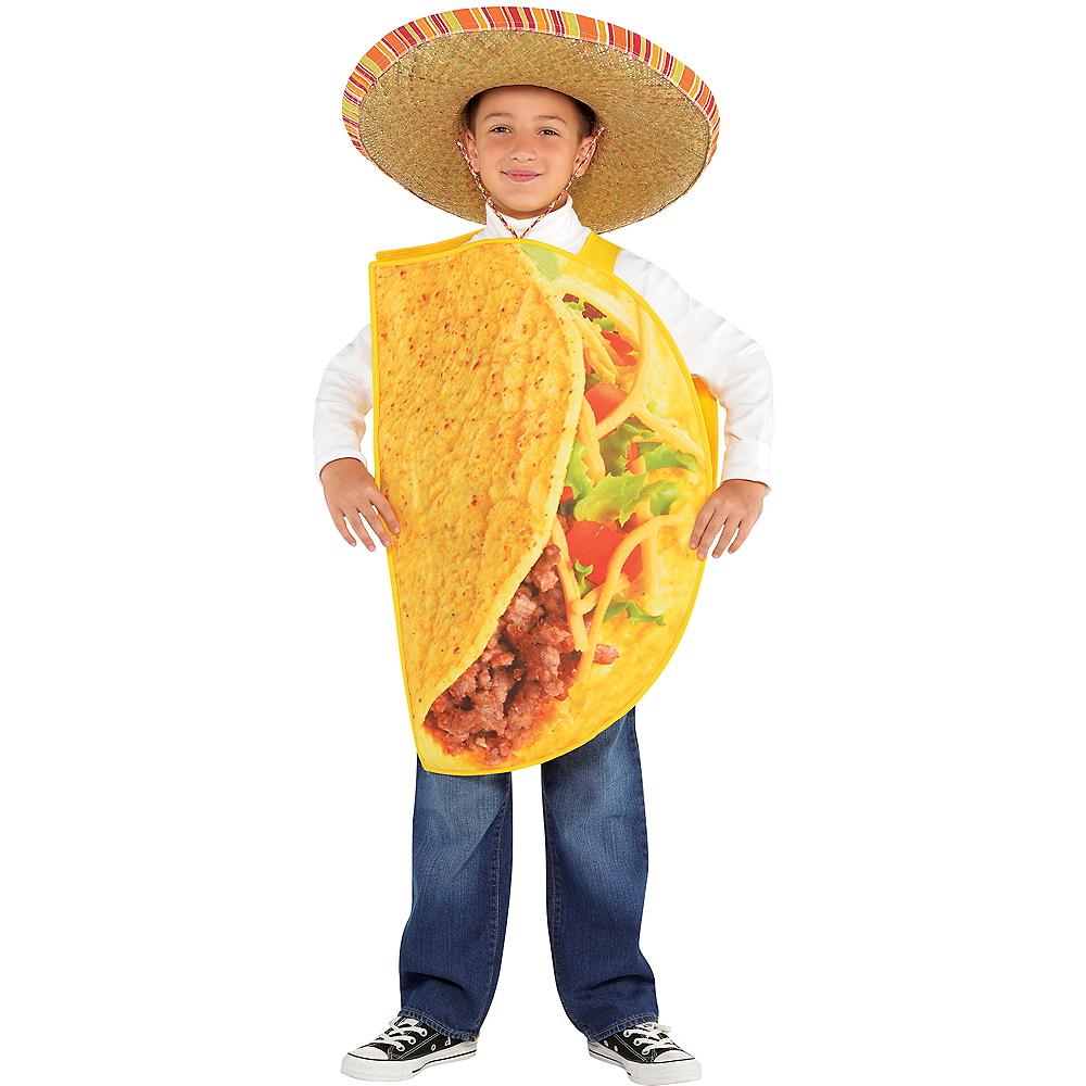 Child Taco Time Taco Costume Image #1