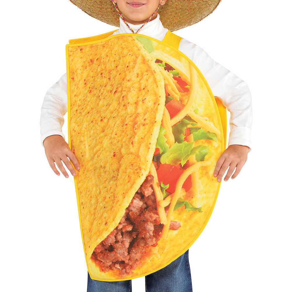 Child Taco Time Taco Costume Image #2