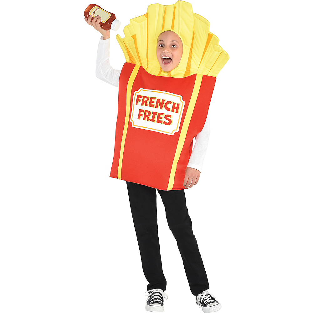 Child Side Of Fries Costume Image #1