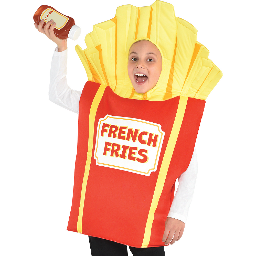 Child Side Of Fries Costume Image #2