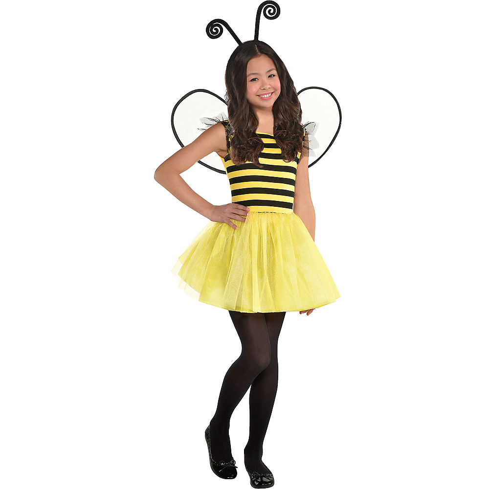 Girls Buzzy Bee Costume Image #1