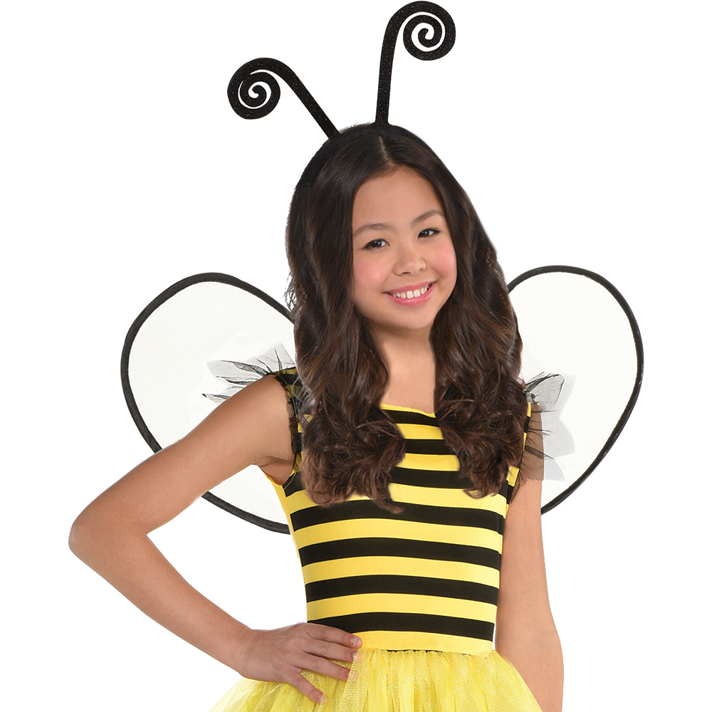 Girls Buzzy Bee Costume Image #3