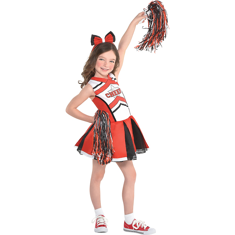 b6d8ca910a6 Girls Cheerleader Costume
