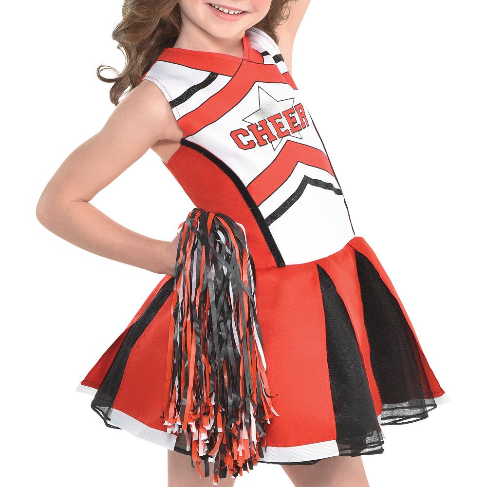 Girls Cheerleader Costume Image #3