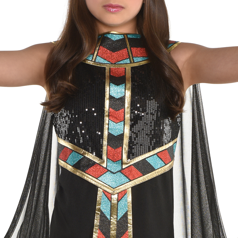 Girls Dark Cleopatra Costume Image #3