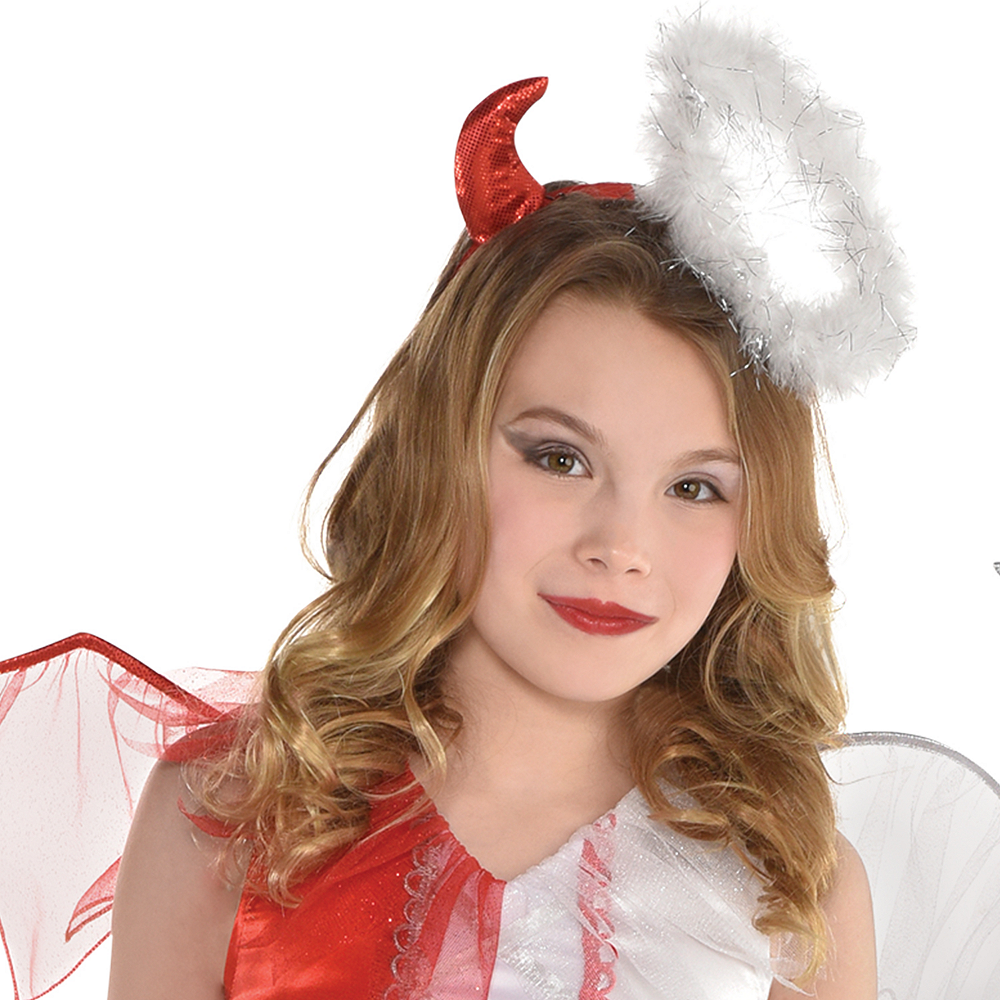 Girls Naughty & Nice Costume Image #2