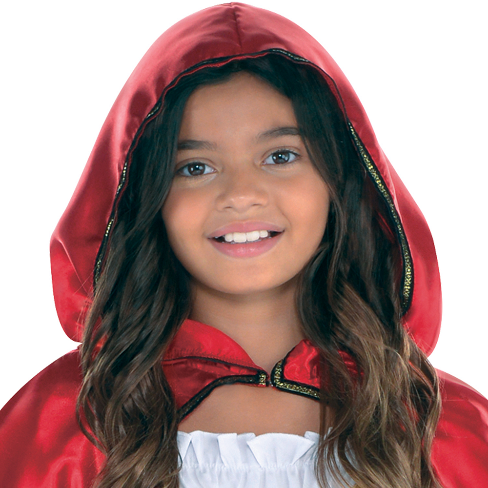 Girls Fairytale Red Riding Hood Costume Image #2