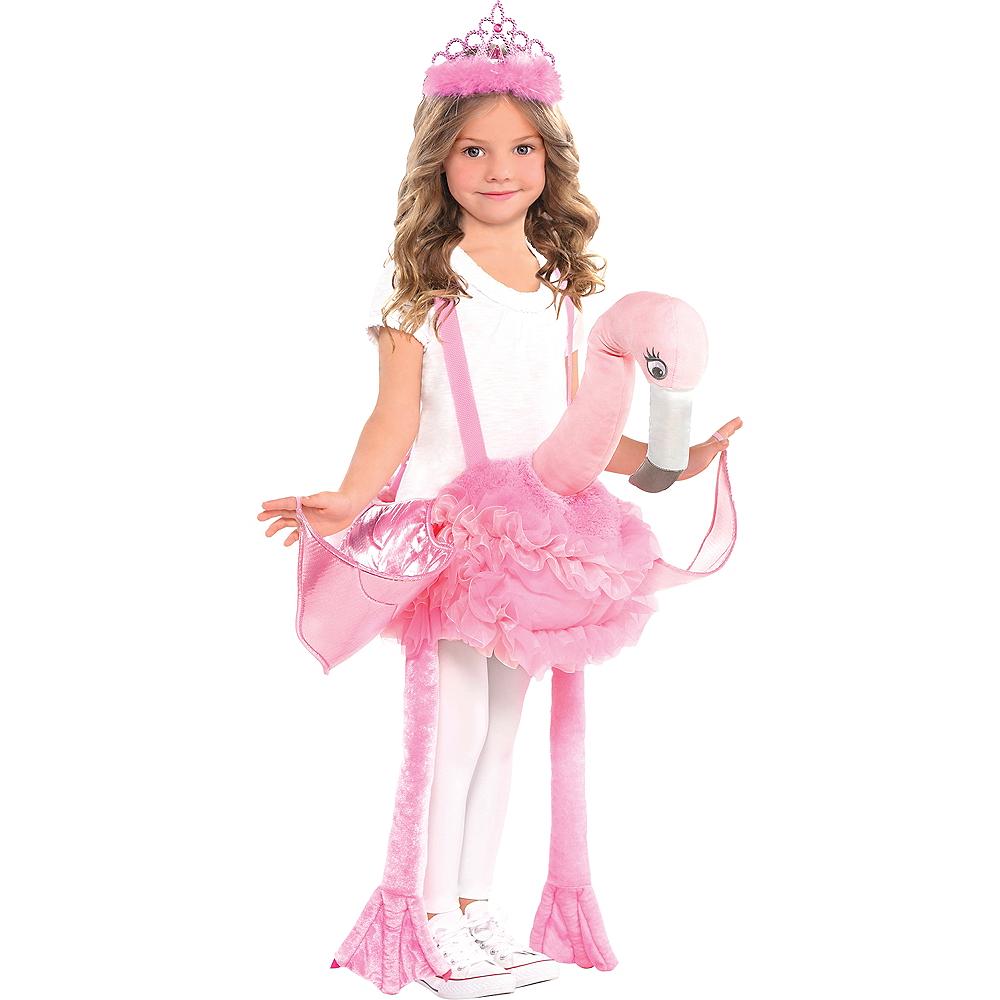 Child Flamingo Ride-On Costume Image #1