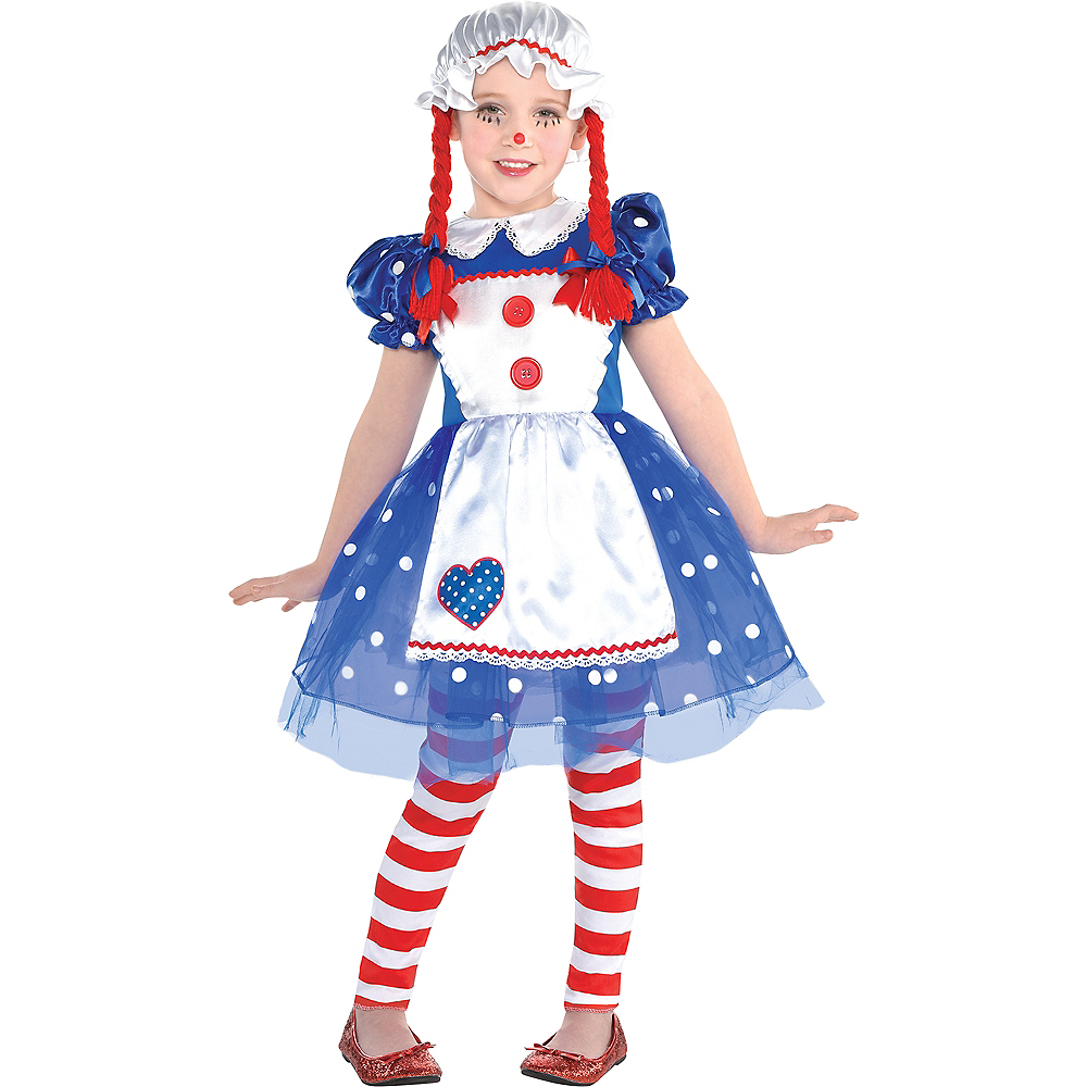 Girls Rag Doll Costume Image #1