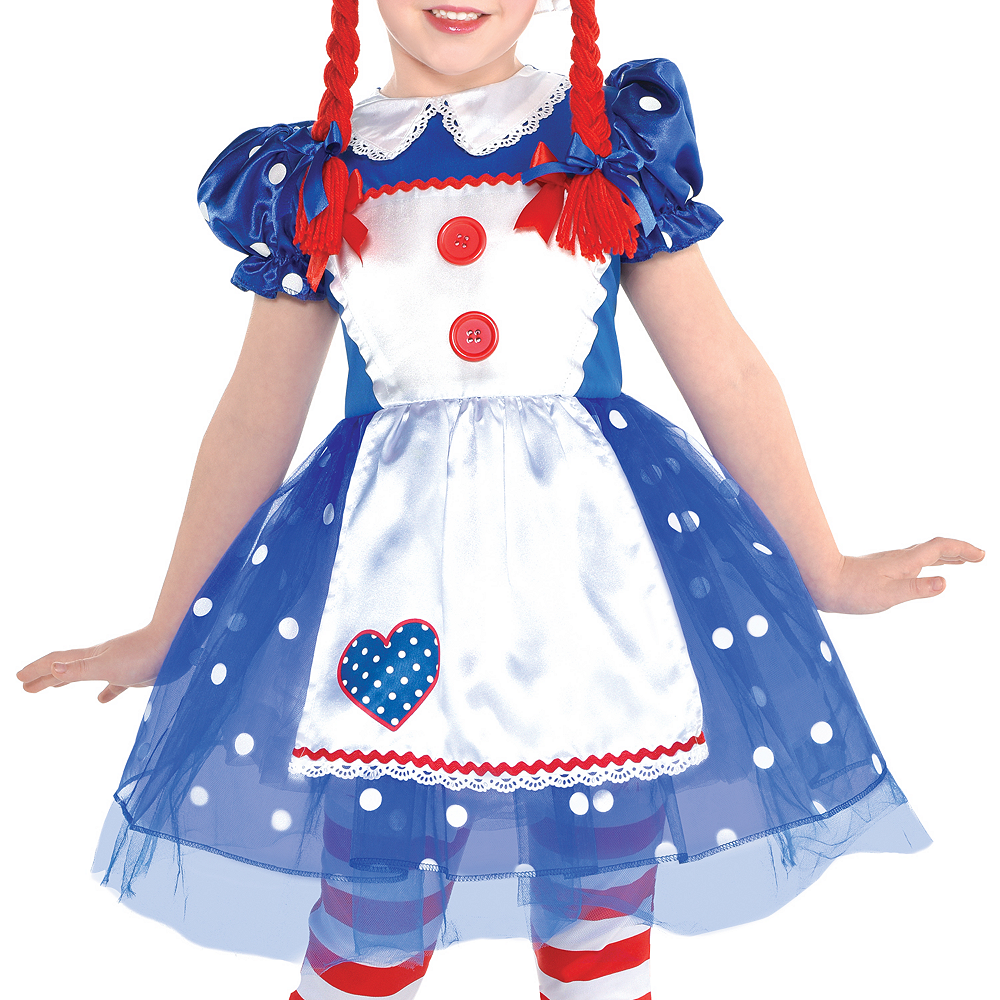 Girls Rag Doll Costume Image #3