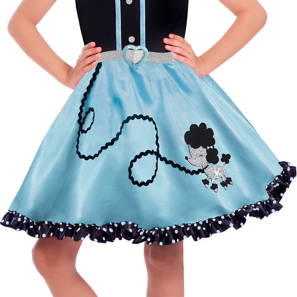 Girls At The Hop Poodle Skirt Costume Image #3