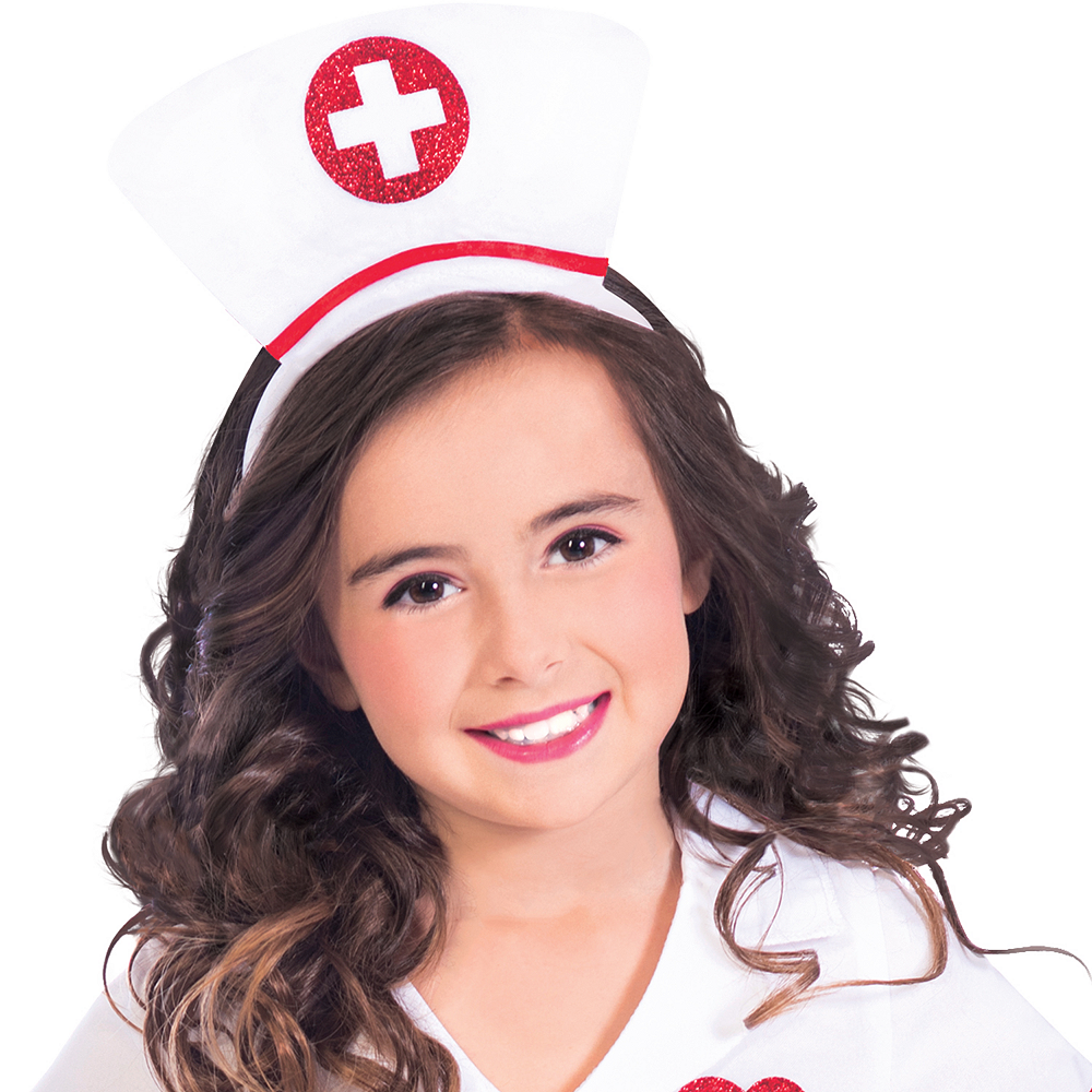Nav Item for Girls Darling Nurse Costume Image #2