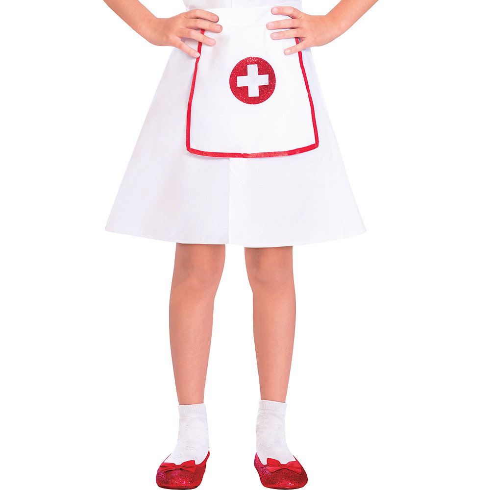 Girls Darling Nurse Costume Image #4