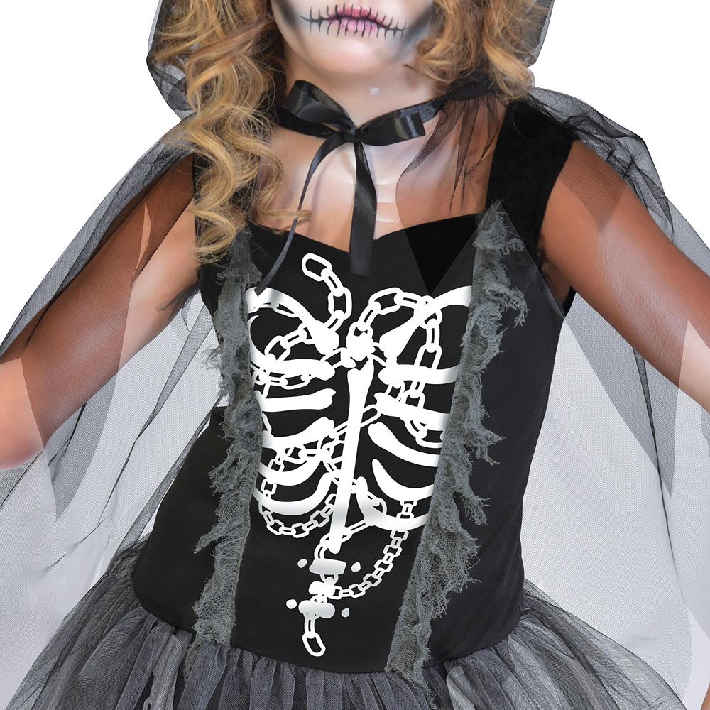 Girls Grim Reaper Costume Image #2