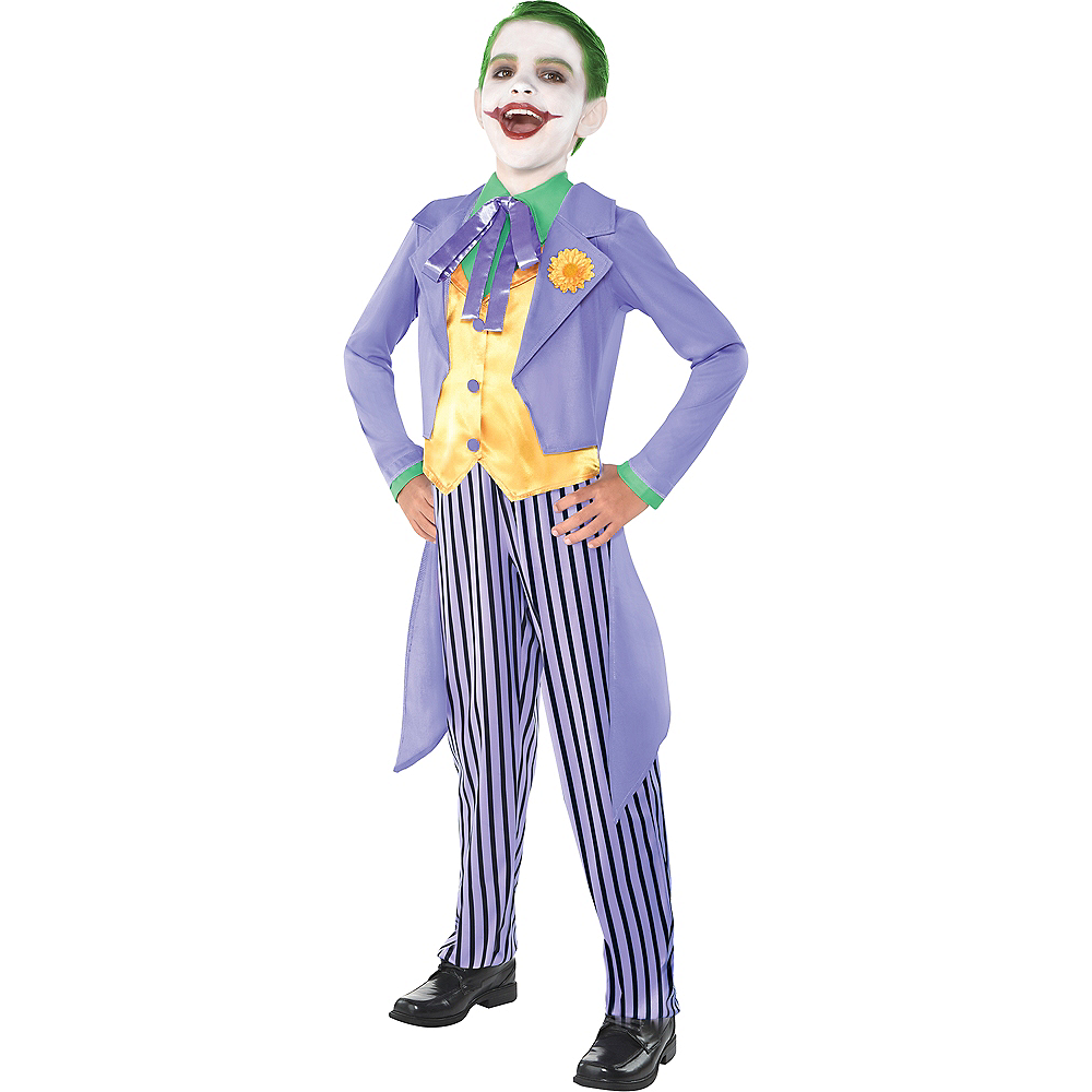Nav Item for Boys Classic Joker Costume - Batman Image #1