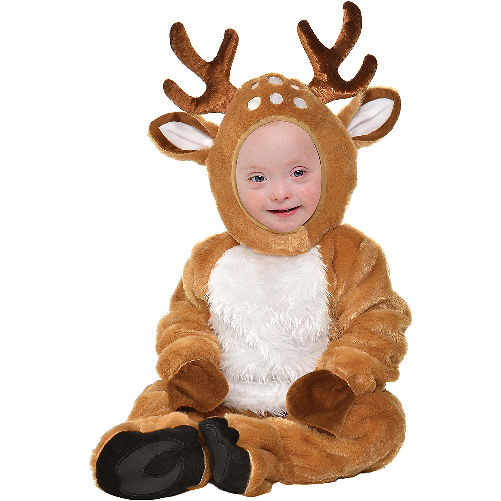 Nav Item for Baby Cozy Deer Costume Image #1