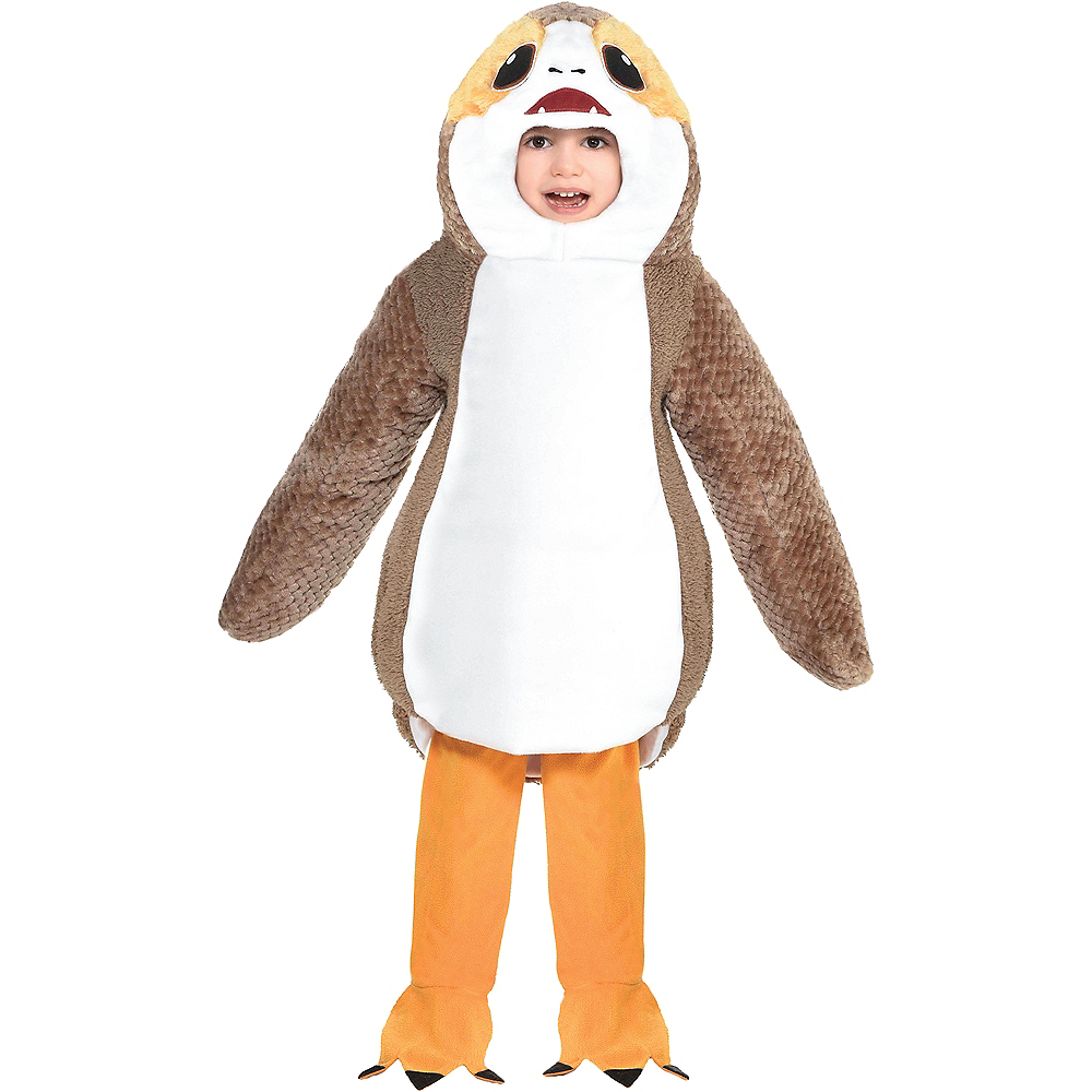 toddler boys porg costume star wars party city toddler boys porg costume star wars