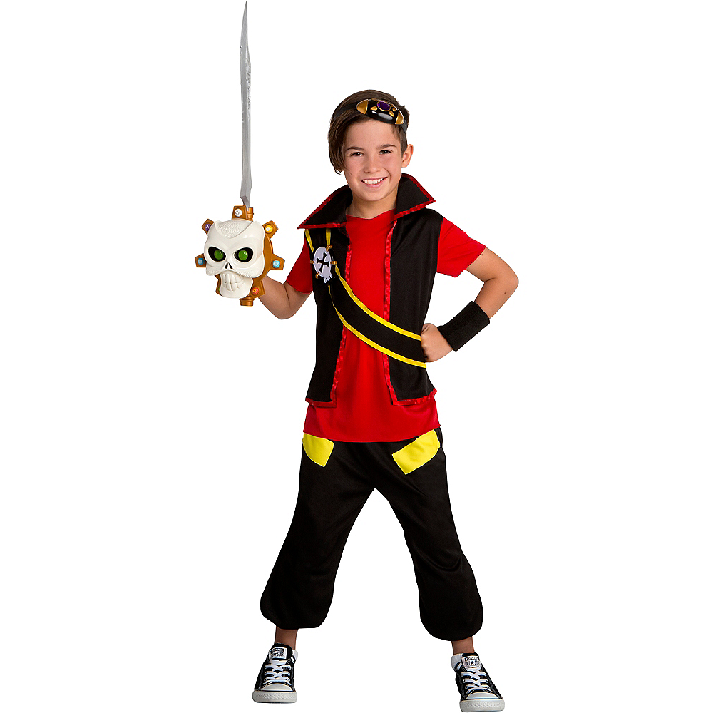 Child Zak Storm Costume Image #1